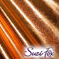 Copper Metallic Foil coated Spandex
