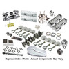 SBC 400 CID Engine Package (475 HP) PBM Strike Force Aluminum Cylinder Heads, New World Products Motown Block II, Hydraulic Roller Camshaft