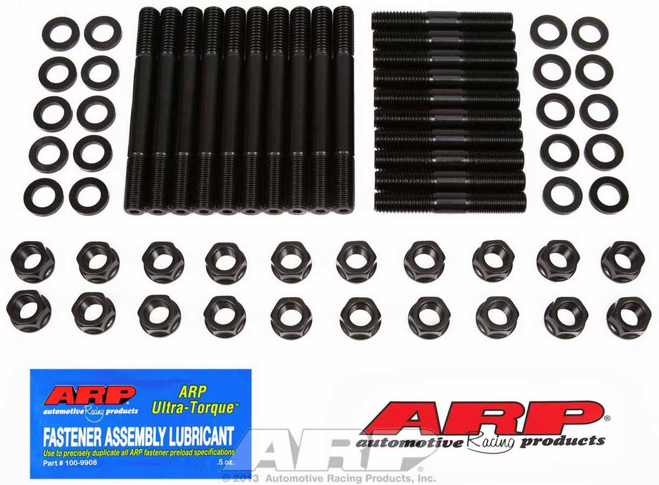 ARP Cyl Head Studs Pro Series 12-Point Nuts Ford 351 W// Stock Aftermarket Heads