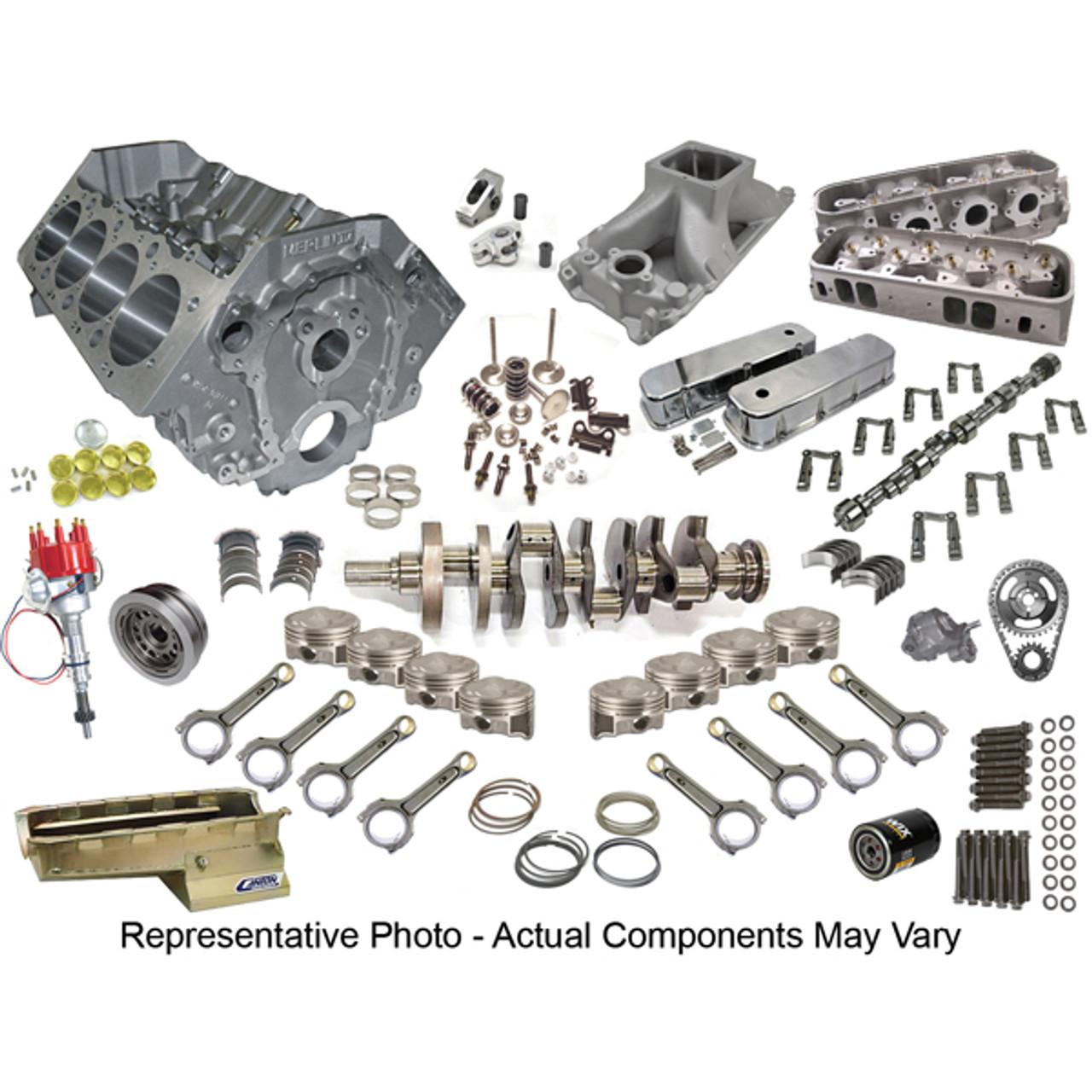 Big Block Chevy 540 Cid 750 Hp Street Strip Engine Package