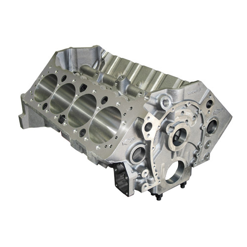 SBC 400 CID Engine Package (450 HP) PBM Strike Force Aluminum Cylinder Heads, New World Products Motown Block II, Hydraulic Roller Camshaft