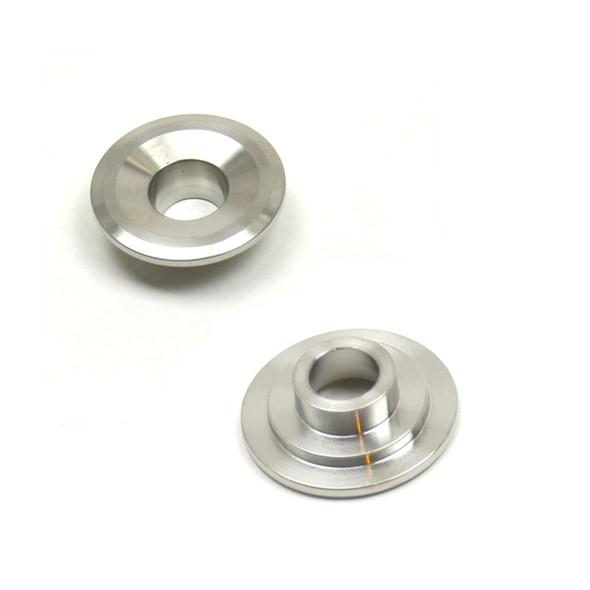 "514 - PBM Performance - LS1 Titanium 7* RETAINERS - fits 1.290"" O.D. Dual Spring - 5/16"" or 8mm Valve Stem (1.300""x.940""x.630"") - Std Install Height"