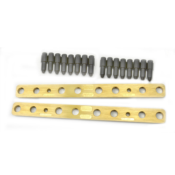 404F - PBM Performance - Stud Girdles - SBF AFR, Dart, World Aluminum Heads - 1pc Design - 7/16 Stud