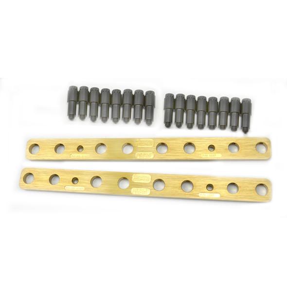409 - PBM Performance - Stud Girdles - SBC UltraLite - 1pc Design - 7/16 Stud