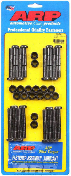 154-6001 Connecting Rod Bolts, High Performance Series, 8740 Chromoly Steel, Ford, 351M, 400