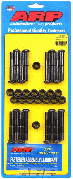 184-6001 Connecting Rod Bolts, High Performance Series, 8740 Chromoly Steel, Oldsmobile, 307, 350, 403, 425