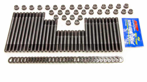 235-4302 Cylinder Head Studs, Pro Series, 12-Point Head, Chevy, Big Block, Brodix, Canfield, Holley Heads