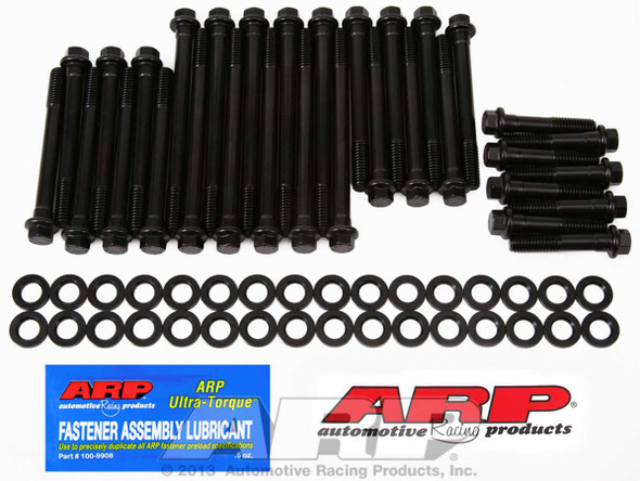ARP 135-3606 Cylinder Head Bolts, High Performance, Hex Head, Chevy, Big Block, with Brodix Aluminum, Canfield Heads
