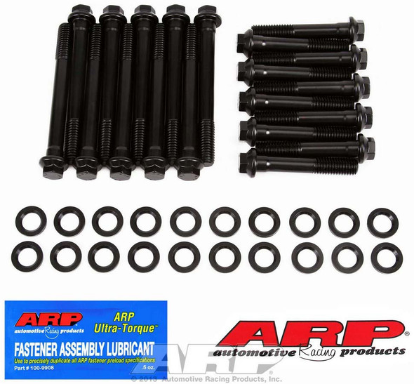 ARP 155-3601 Cylinder Head Bolts, High Performance, Hex Head, Ford, 390-428, FE, with Stock, Edelbrock RPM Heads