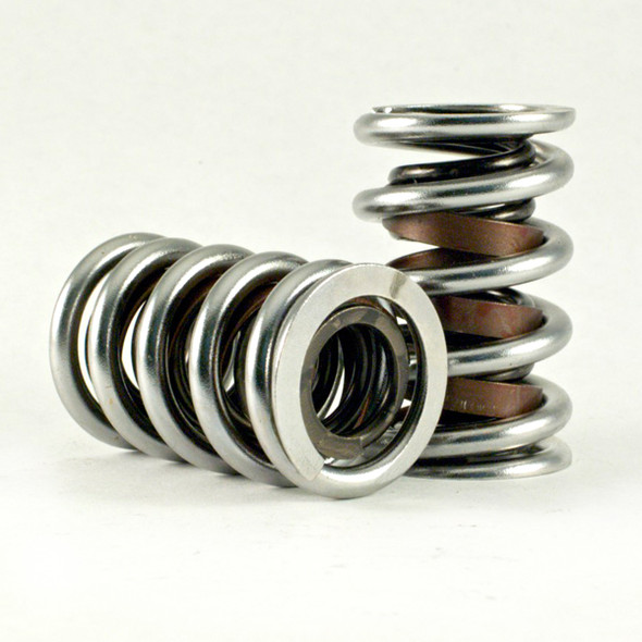 "PBM 3850 Mechanical Roller Valve Spring, Dual With Damper 1.550"" Dia., 230#@ 1.950"", 580#@ 1.300"", Max Lift .650, Set of 16"