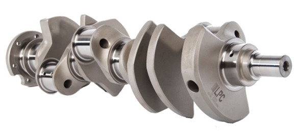 """Small Block Chevy Ultra Light Weight Series 4340 Forged Crankshaft - 3.750"""" Stroke - 350 Mains. - 6.000"""" Rod Length - Liberty Performance Components - ZR-3525"""