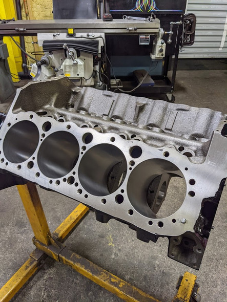 "GM 400 Block ""509"" Casting, Completely Machined, Finished Bore 4.1455"""
