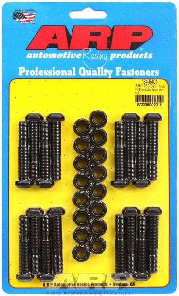 134-6401 Connecting Rod Bolts, High Performance Wave-Loc, 8740 Chromoly Steel, Chevy, 283, 302, 327, V8
