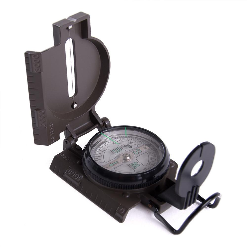 Lensatic Hiking Compass