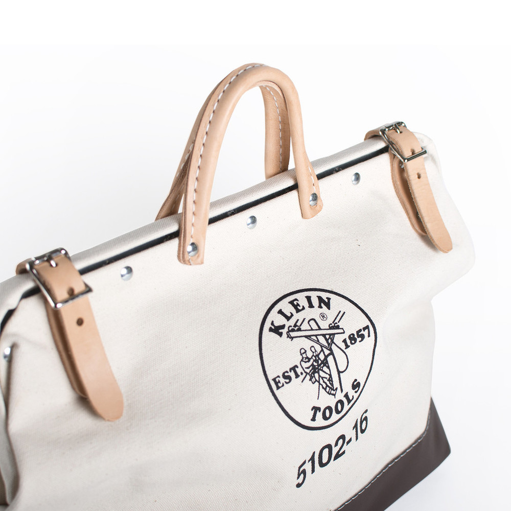 "Klein Tools 16"" Canvas Toolbag"