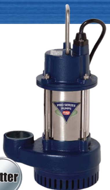 PS3033 1/3 hp Sump Pump with DFC 2 Controller