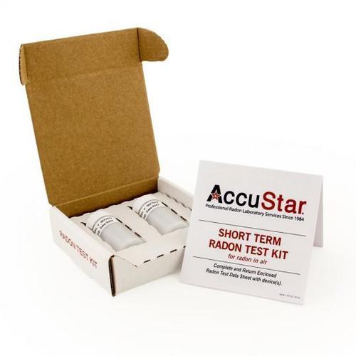 Radon Test Kit Double Vial