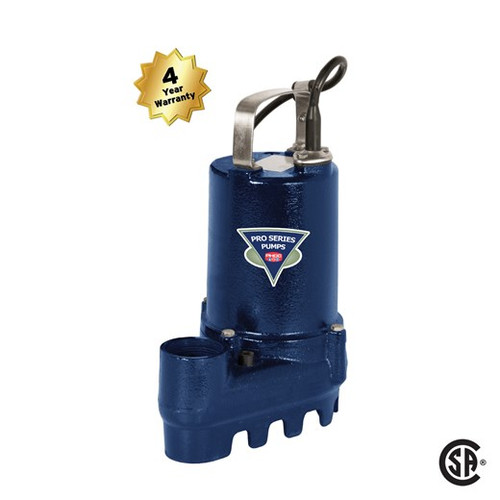 Pro Series PS2050 1/2 HP Sump Pump (4 yr war) (PUMP ONLY)