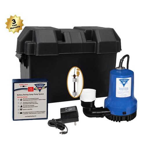 Pro Series  1000 Back Up Pumping System