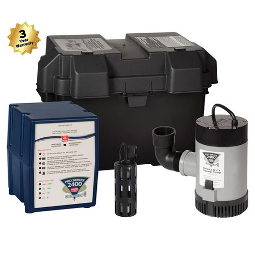 Pro Series 2400  Back Up Pumping System