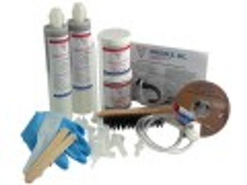Emecole 102 Polyurethane Foam - 10' D-I-Y Crack Repair Kit /with Easy Peel Surface Seal