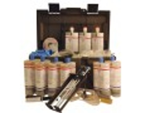 Emecole 121 Epoxy - 30' D-I-Y Structural Crack Repair Kit / with Easy Peel Surface Seal