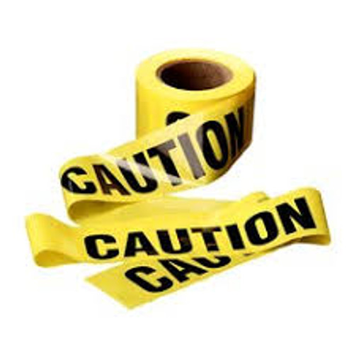 Caution Tape (yellow)