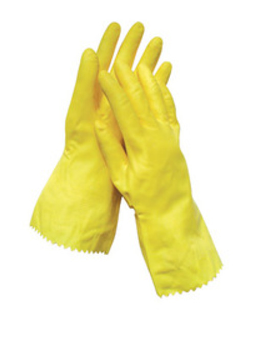 Latex Gloves (yellow)