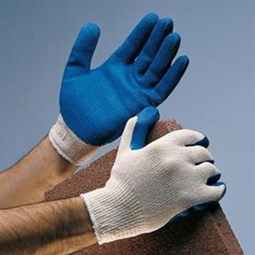 Rubber Coated String Knit Work Gloves