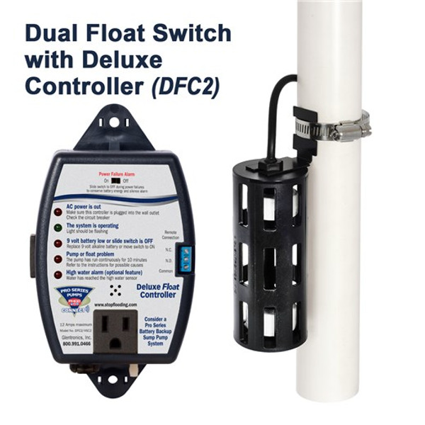 PS3100 1 hp Sump Pump with DFC2 Controller