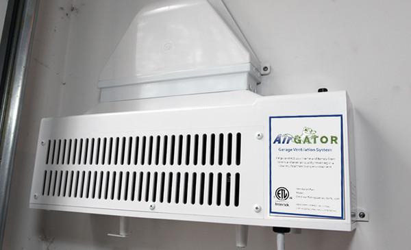 AirGator Garage Ventilation System
