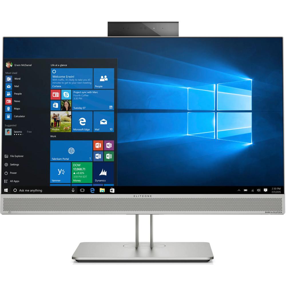 HP EliteOne 800 G5 - 23.8 inch Full HD Touch Screen - i5-9500 - 16GB - 256NVMe SSD - Radeon 3D