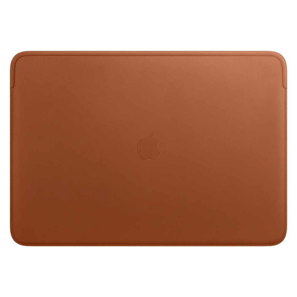 Leather Sleeve for 16-inch MacBook Pro – Saddle Brown