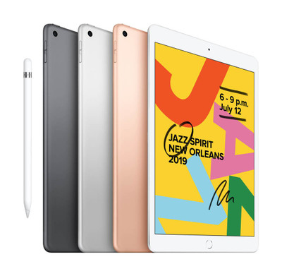 Apple iPad 10.2-inch iPad Wi-Fi + Cellular 128GB