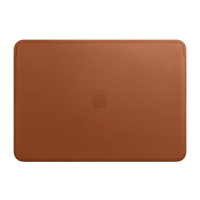 MACBOOK PRO 13 LEATHER SLEEVE BROWN-FAE