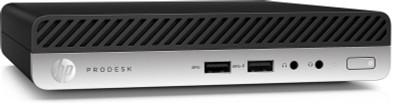HP ProDesk 400 G5 Desktop Mini - i3-9100 - 8GB - 256 NVMe SSD