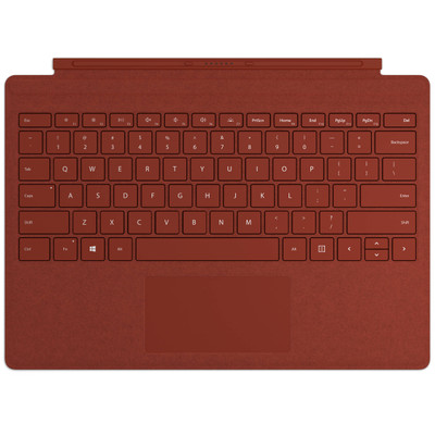 Surface Pro Signature Type Cover - Poppy Red