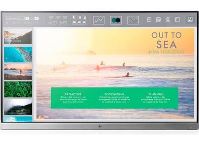 HP EliteDisplay E233 23 inch - Full HD VGA HDMI DisplayPort USB 3.0 hub - HEAD ONLY