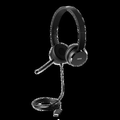 Lenovo 100 Stereo USB Head Set