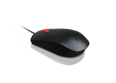 Lenovo Essential USB Mouse (full size)