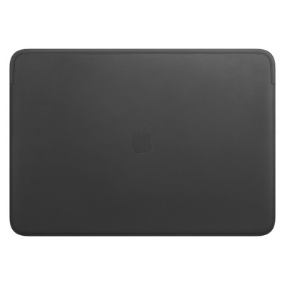 Leather Sleeve for 16-inch MacBook Pro – Black