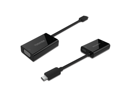 Toshiba USB-C to VGA with PD charging
