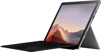 Surface Pro 7 tablet - 12.3 inch PixelSense - i5-1035G4 - 8GB - 256 SSD - Black + Charcoal Type Cover