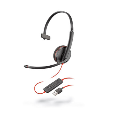 Poly Blackwire C3210 USB-A Mono headset
