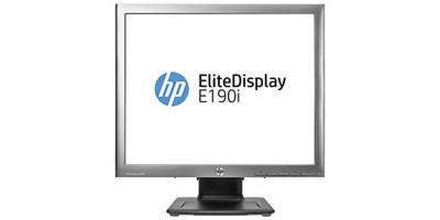 HP EliteDisplay E190i 18.9 inch 5:4 - SXGA VGA DVI DisplayPort USB 2 hub