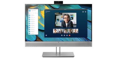 HP EliteDisplay E243m 24 inch - Full HD+ VGA HDMI DisplayPort USB 3 hub Webcam