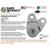 SX-8000G Pulley Block