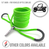 """1/2"""" Ultimate Kinetic Recovery Rope (7,400 lb MTS, 2,500 lb WLL)"""