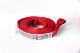 """2"""" x 30 ft ASR Poly Flat Strap in Red."""