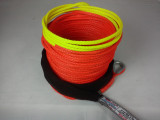 """1/4"""" x 65' Plasma Winch Rope w/ Warning Color - MSRP $178.64"""